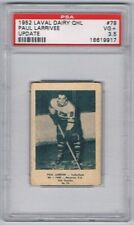 1952 Laval Dairy QHL Update Hockey Card Valleyfield Paul Larrivee Graded PSA 3.5