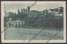 MILANO VAPRIO D'ADDA 11 VILLA VISCONTI - VILLA FALCHO Cartolina viaggiata 1928