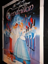 CENDRILLON   !  affiche cinema walt disney