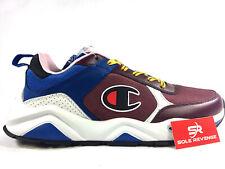 NEW! CHAMPION 93EIGHTEEN - MEN'S Shoes 100116M Maroon Multi Blue White 9318 c1