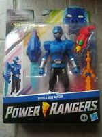 Power Rangers Beast Morphers Beast-X Blue Ranger 6 Inch Action Figure Toy New