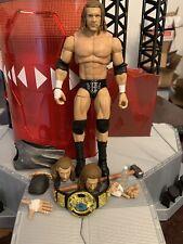 WWE Mattel custom head Cast-Le Patriot Figure fourragères
