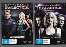 Battlestar Galactica, Season 2.0, Season Three, Season Four / Part One, box sets