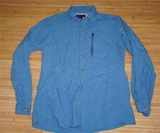 Ex-Officio Long Sleeve Trail Shirt - Blue -Men��s L