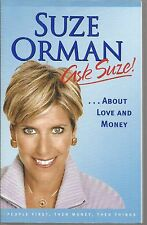 Ask Suze! About Love and Money Volume 2 2004 by Suze Orman Paperback New