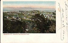 1905 Bird's Eye View from Overlook Park of Asheville, NC North Carolina PC
