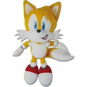 "NEW Sonic The Hedgehog Tails Plush Toy Stuffed Figure Doll 9""H GE SEGA"