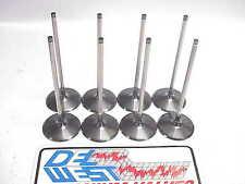 "8 Del West 6 mm Titanium Intake Valves 5.940""-2.180"" Spin-Tron  part #10431-001"