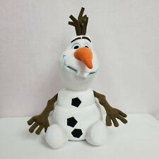 "Disney Parks Olaf Plush Stuffed Animal 12"" Frozen Snowman"