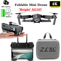 SG107 Mini Drone with Wifi FPV 1080P 4K HD Camera Optical Flow RC Quadcopter