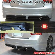 Mu-gen RR Style Rear Bumper Lip (ABS) Fits 06-11 Honda Civic 4dr