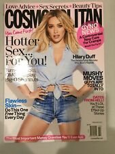 Cosmopolitan Magazine February 2017 Hilary Duff