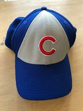 Chicago Cubs New Era Fitted Baseball Hat Cap Size Small-Medium Mlb Blue Color