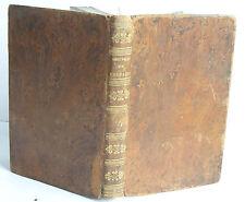 1824 CHEFS D'OEUVRE DRAMATIQUES DE VOLTAIRE TOME QUATRIEME leather bound FRENCH