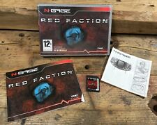 Red Faction (Nokia N Gage, 2003) Complete NGAGE Mobile Handheld