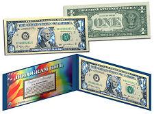 SILVER HOLOGRAM *Crackle* Genuine Legal Tender $1 U.S. BILL *MUST SEE - Limited*