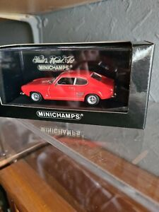 Minichamps 1 43 Ford Capri 1969 Light Red