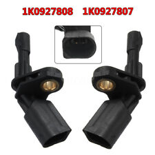 2x Rear Right & Left ABS Speed Sensor For VW EOS Golf Jetta Audi A3 1K0 927 808