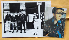 THE CLASH vintage black and white promo photo + generic print punk Ramones