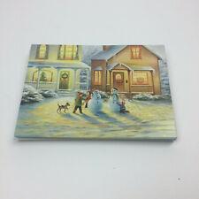 Holiday Christmas Greeting Cards NuArt Usa Season Greeting Happy New Year