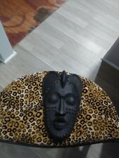 African Mask: Black: Wall Decor.