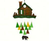 Log Cabin Wind Chime - Each Chime is handmade   GEBLUEG530