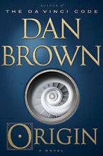 Origin: A Novel - Dan Brown Hc 2017 Da Vinci Code Thriller History