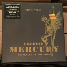 "NEW Freddie Mercury Messenger Of The Gods The Singles 7"" Colored Vinyl Boxset"
