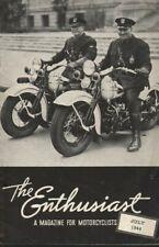 1944 July - The Enthusiast - Vintage Harley-Davidson Motorcycle Magazine