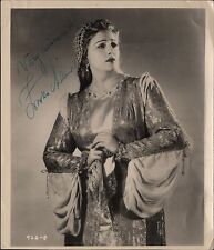 "ZINKA MILANOV - Croatian Soprano in ""La Gioconda"" - Orig. Handsigned B/W Photo"