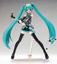 Figma 014 Hatsune Miku Action PVC Figure Figurine New Anime Toy No Box
