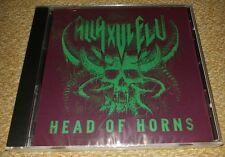 NEW ALLA XUL ALU A.X.E HEAD OF HORNS CD HORROR CORE JUGGALO INSANE CLOWN POSSE