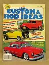 Vintage 1001 Custom Rod Ideas Magazine 1983 Kit Car Phaeton Tudor SRN Boston