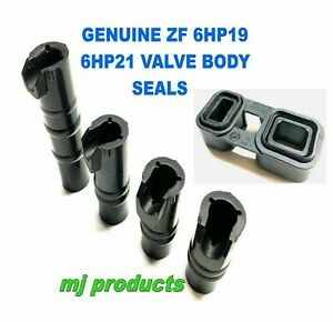 ZF 6HP19 AND 6HP21 GENUINE valve body seals with seal block / tube seals