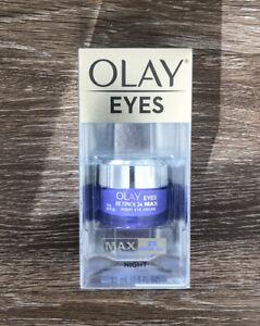 Olay Regenerist Retinol 24 MAX Night Eye Cream 15 ML 0.5 Oz