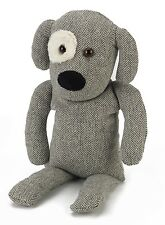 Warmies Microwave Furry Eye Grey Cozy Dog Charles Microwavable Heatable Bed Time