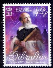 Gibraltar 2009 MNH, Galileo, Yr of Astronomy, Europa, Science - E75