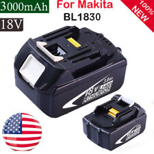3.0AH 18V Battery For Makita BL1840 BL1830 BL1815 LXT Lithium Ion Cordless US
