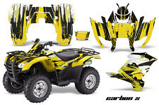 ATV Graphics Kit Decal Sticker Wrap For Honda Rancher AT 2007-2013 CARBONX YLLW