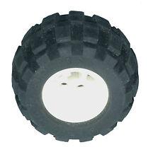 Missing Lego Brick 6579 Black Tyre 43.2 x 28 Balloon Small & 6580 White Wheel