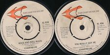 DISCO 45 GIRI   Chartreuse  - You Really Got Me / Rock And Roll Rules