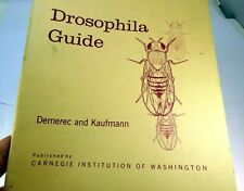 1967 Drosophila Guide Carnegie Institution of Washington M Demerec Kaufmann