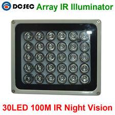 100-300m high power 30pc Array IR Infrared LED illuminator Light for CCTV Camera