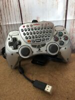 SONY PLAYSTATION 2 PS2 OFFICIAL NYKO iTYPE 2 CONTROLLER Keyboard Chat Game Pad