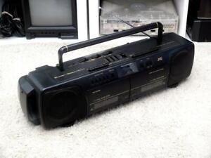 JVC RC-W415 Portable Stereo Radio Cassette Recorder