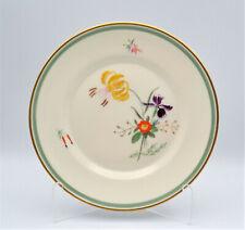 "Royal Copenhagen Denmark Fiesta Luncheon Plate 7.5"" Fine China Yellow Flower"