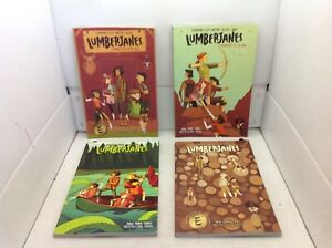LumberJanes books-vol 1-4