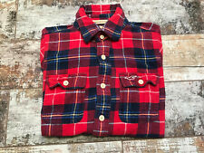 HOLLISTER Men's Check Multi Long Sleeve Shirts Size S