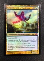 KRUPHIX, GOD OF HORIZONS Journey Into Nyx MTG Magic the Gathering Foil Card