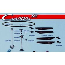 BMI 0450-018 Colonnettes alu Carbooon 450 (oo)